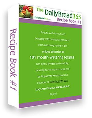 Recipe book 1 image shot